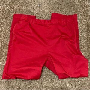 NWOT Plus Size Red Koret Slacks.